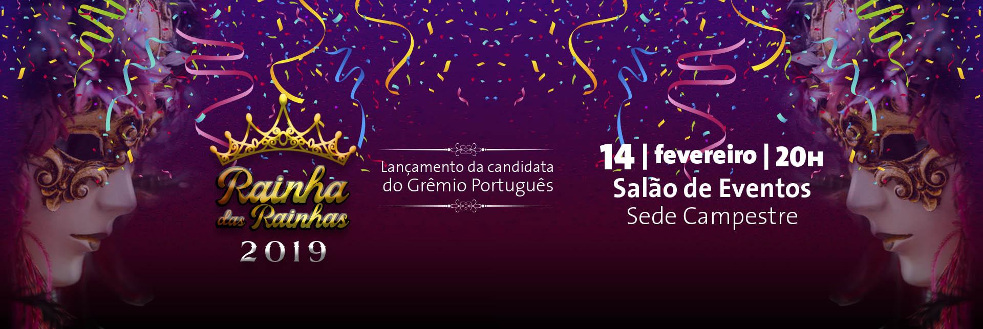 e2536df43bb O Grêmio Português lançará no dia 14 de fevereiro de 2019